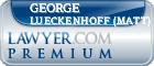 George Matthew Lueckenhoff (Matt)  Lawyer Badge