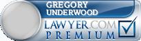 Gregory Lee Underwood  Lawyer Badge