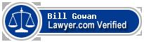 Bill E. Gowan  Lawyer Badge