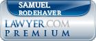 Samuel C. Rodehaver  Lawyer Badge