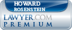 Howard M. Rosenstein  Lawyer Badge