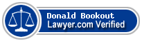 Donald L. Bookout  Lawyer Badge
