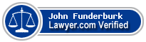 John Conrad Funderburk  Lawyer Badge