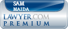 Sam A. Maida  Lawyer Badge