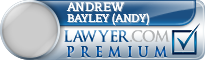 Andrew Michael Bayley (Andy)  Lawyer Badge
