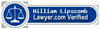 William J. Lipscomb  Lawyer Badge