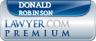 Donald Joe Robinson  Lawyer Badge