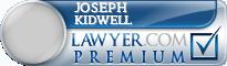 Joseph Marion Kidwell  Lawyer Badge