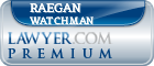 Raegan Richard John Watchman  Lawyer Badge