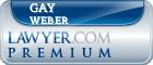 Gay Morris Weber  Lawyer Badge