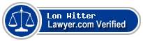 Lon L. Witter  Lawyer Badge