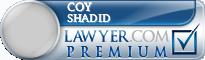 Coy C. Shadid  Lawyer Badge