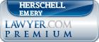 Herschell G. Emery  Lawyer Badge