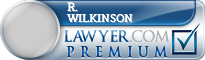 R. T. Wilkinson  Lawyer Badge