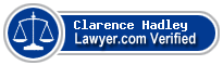 Clarence P. Hadley  Lawyer Badge