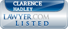 Clarence Hadley Lawyer Badge