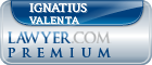Ignatius E. Valenta  Lawyer Badge