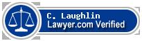 C. W. Laughlin  Lawyer Badge