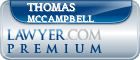 Thomas Atlee Mccampbell  Lawyer Badge