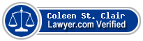 Coleen D. St. Clair  Lawyer Badge