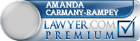 Amanda Jean Carmany-Rampey  Lawyer Badge