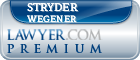 Stryder James Wegener  Lawyer Badge