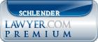 Lee Schlender  Lawyer Badge
