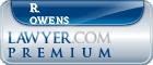 R. Bruce Owens  Lawyer Badge