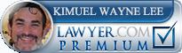 K Wayne Lee  Lawyer Badge