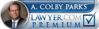 Arthur Colby Parks  Lawyer Badge