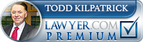 Todd Patrick Kilpatrick  Lawyer Badge