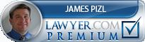 James B. Pizl  Lawyer Badge