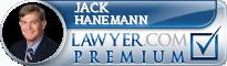 Jack W. Hanemann  Lawyer Badge