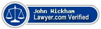 John David Wickham  Lawyer Badge