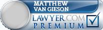 Matthew Edwin Van Gieson  Lawyer Badge