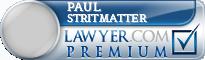 Paul Lester Stritmatter  Lawyer Badge
