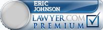 Eric Paul Johnson  Lawyer Badge