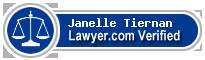 Janelle Tiernan  Lawyer Badge