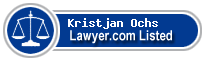 Kristjan Ochs Lawyer Badge