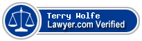 Terry L. Wolfe  Lawyer Badge
