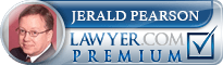 Jerald D Pearson  Lawyer Badge