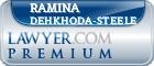 Ramina Dehkhoda-Steele  Lawyer Badge