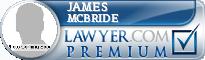 James Dewitt Mcbride  Lawyer Badge
