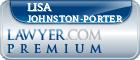 Lisa Rene Johnston-Porter  Lawyer Badge