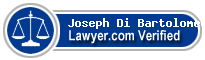 Joseph Di Bartolomeo  Lawyer Badge