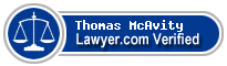 Thomas A McAvity  Lawyer Badge