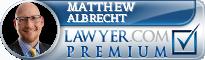 Matthew C Albrecht  Lawyer Badge