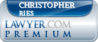 Christopher F. Ries  Lawyer Badge