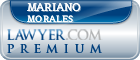 Mariano Morales  Lawyer Badge