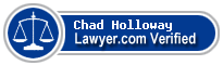 Chad Holloway  Lawyer Badge